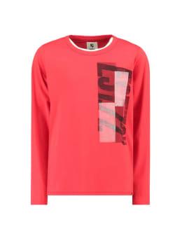 garcia shirt met lange mouw h93602 rood