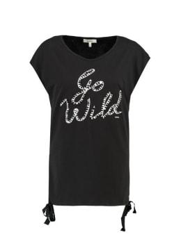 garcia t-shirt met korte mouwen G90004 zwart