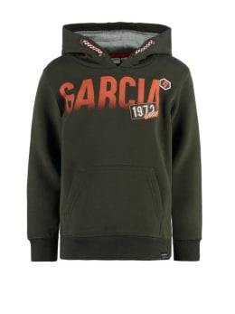 garcia hoodie I95460 groen
