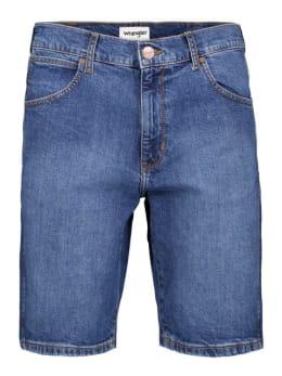 wrangler short 5 pockets blauw