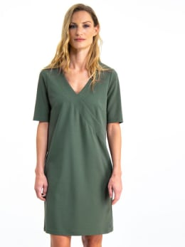 garcia jurk gs900781 groen