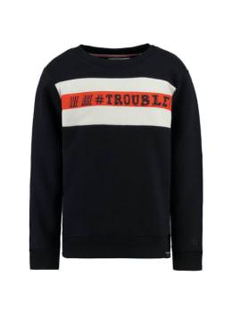 garcia sweater h95662 blauw