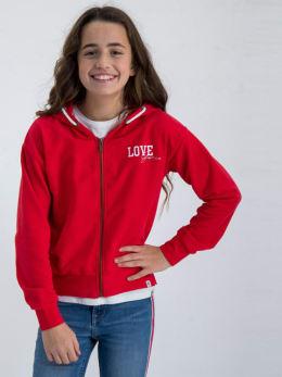 garcia vest met opdruk gs020102 rood