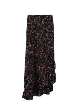 ambika rok hayley met bloemenprint