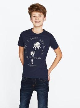 cars t-shirt clarck blauw