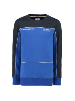 garcia sweater g93465 blauw