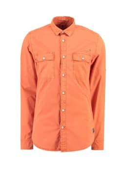 garcia overhemd I91028 oranje