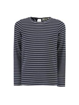 garcia t-shirt met lange mouwen i92405 blauw