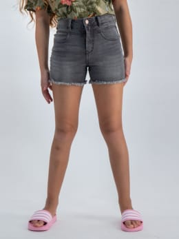 garcia rianna denim short o02530 grijs