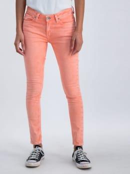 garcia superslim jeans n00315 koraalroze