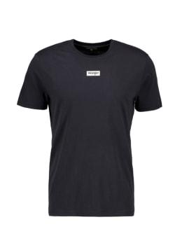 wrangler t-shirt met opdruk zwart