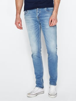 ltb servando tapered fit blauw 52288