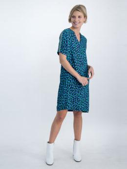 garcia jurk o00084 donkerblauw