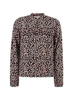garcia blouse met print h92633 zwart