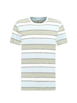 Garcia  T-shirt Korte Mouwen D91210 Blauw