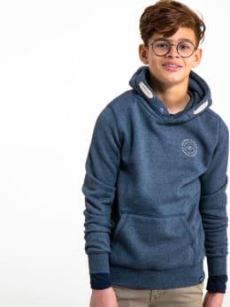 garcia hoodie gs930701 blauw
