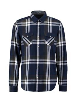 rockford mills overhemd rm010304 donkerblauw