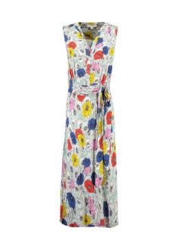 garcia jurk met print e90080 groen