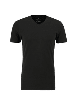 jc basic organic cotton T-shirt JC010004 zwart