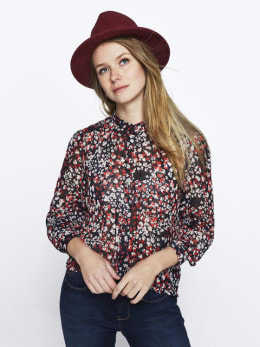 tripper blouse donkerblauw tr000302