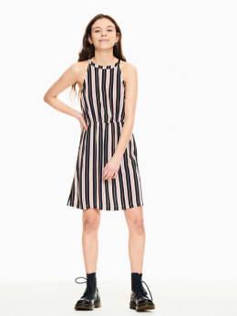 garcia jurk donkerblauw p02682