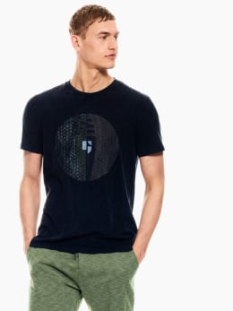 garcia t-shirt donkerblauw p01209