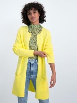 garcia geribbeld vest gs000152 geel