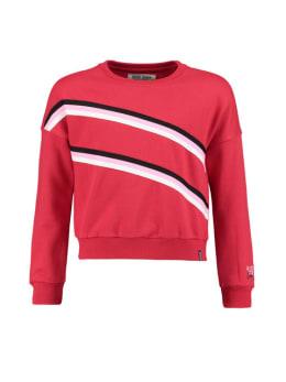 cars sweater met strepen cendall rood