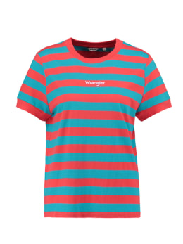 wrangler t-shirt rood 80s regular tee