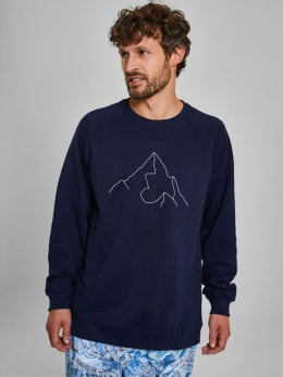 dedicated sweater blauw