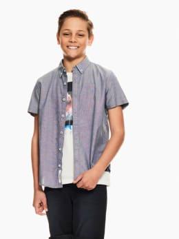 garcia overhemd grijs p03630