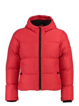 cars puffer jas nicolet rood