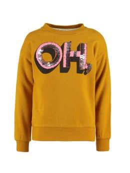 garcia sweater i94461 geel