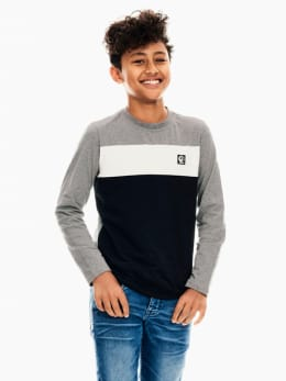 garcia t-shirt grijs t03603