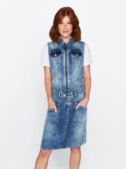 ltb denim jurk billy lavita wash