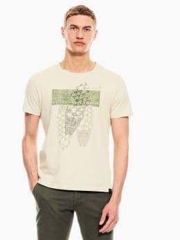 garcia t-shirt crème wit p01201