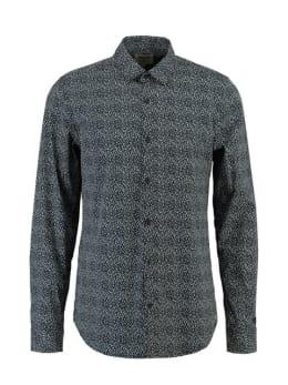 Garcia Overhemd Lange Mouwen PG811103 Blauw