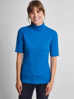 yezz t-shirt met turtleneck py900804 blauw