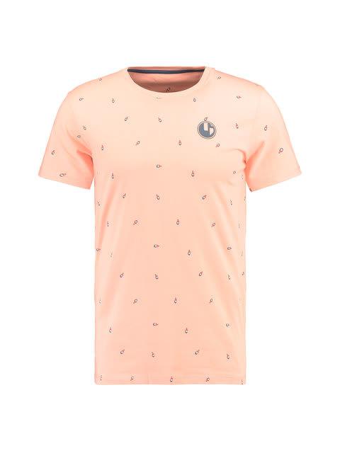 bb4bc262403227 garcia t-shirt korte mouwen e91006 roze   t-shirts en polo's   heren ...