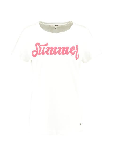 1bc0d542837378 Garcia T-shirt Korte Mouwen D90202 Wit   t-shirts en tops   dames ...