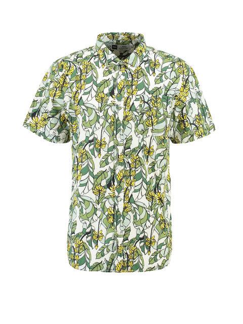 T Shirt Overhemd.Dedicated Overhemd Met Bananenprint Sandefjord Groen T Shirts