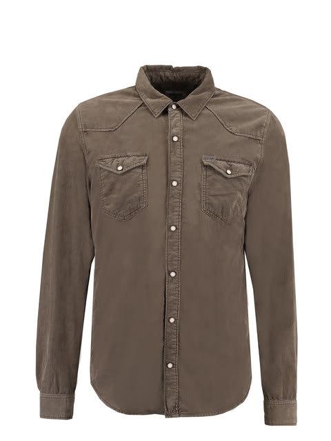 Heren Overhemd Met Drukknopen.Overhemd Garcia U81032 Men Overhemden Heren Collectie Jeans