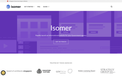 Isomer - Singapore Government Static Websites