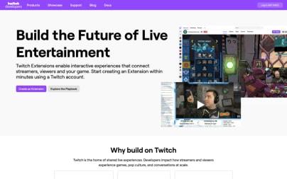 Twitch Developer Documentation