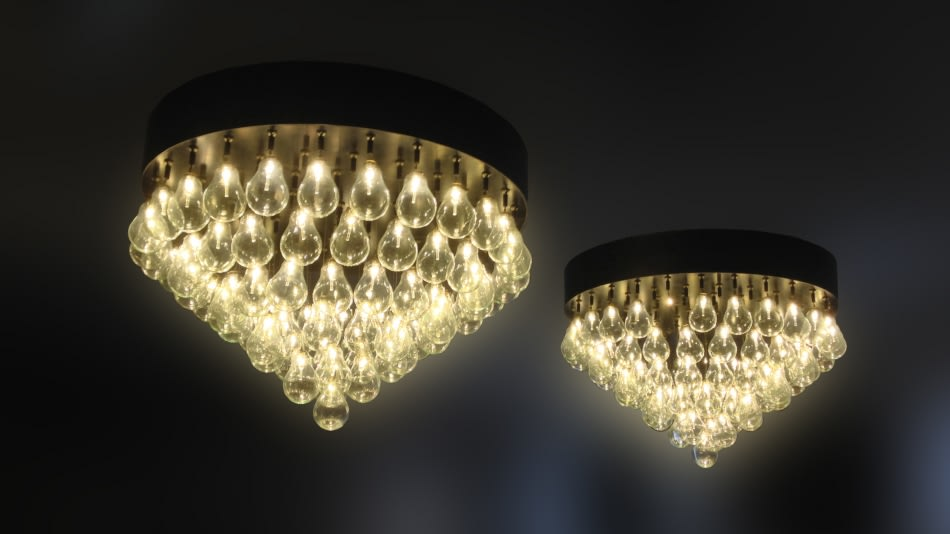 Private Collection, Futo Chandelier by Jen Lewin