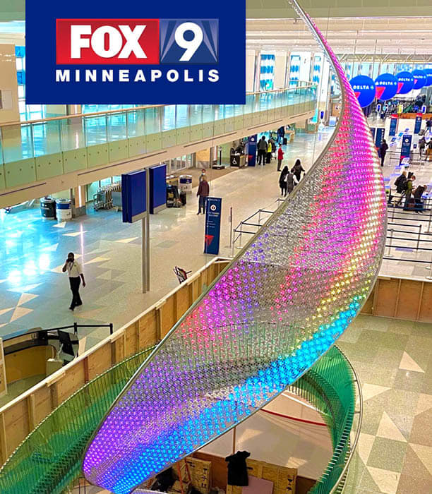 MSP to unveil new 2-story sculpture called The Aurora