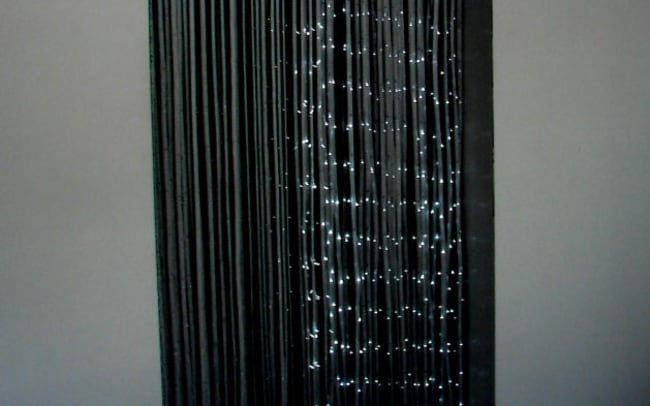 Commissioned Interior Design, Light Curtain by Jen Lewin