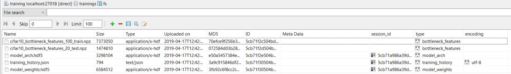 Studio 3T Screenshot Output Files