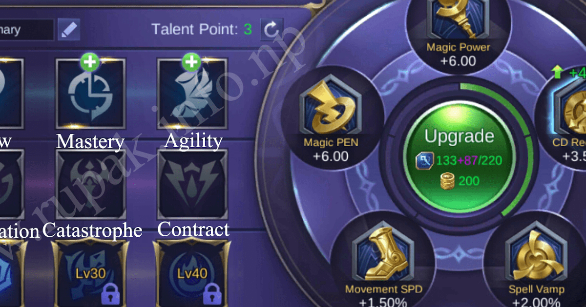 Why it's important to level up your mage emblem to win in Mobile Legends