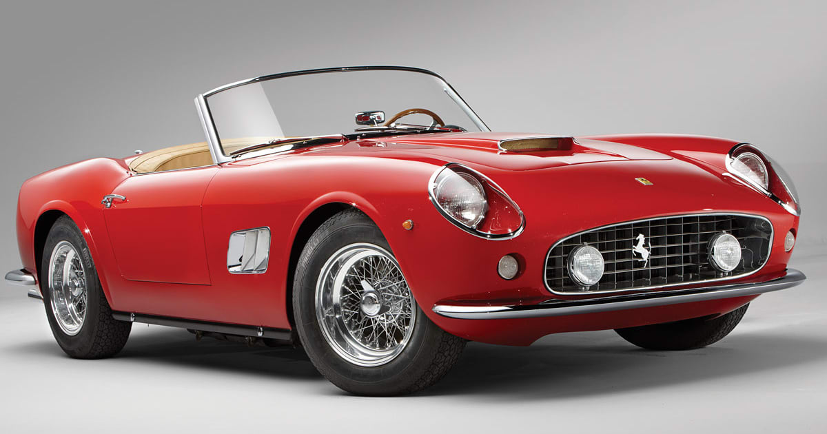 Most Expensive Vintage Cars of the 60s